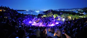 A music festival on the Greek holiday island of Paros, home of the luxury Yria Boutique Hotel & Spa